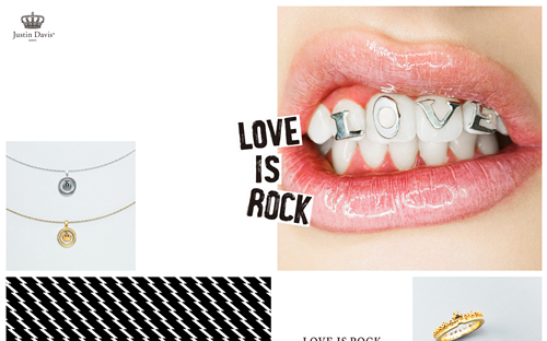 LOVE IS ROCK // Justin Davis®